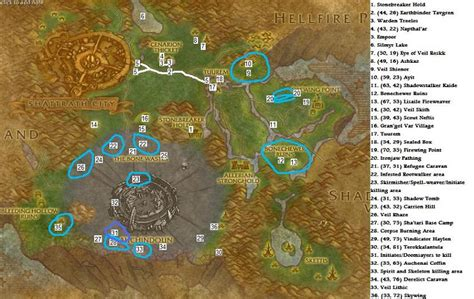 Razorthorn Shelf Map by Wow Carrion Hill Related Keywords Wow Carrion Hill
