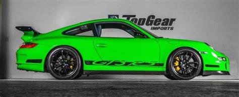 porsche viper green 2008 911 gt3rs coupe in viper green