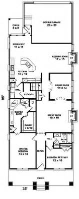 narrow cottage plans narrow lot house plans home design
