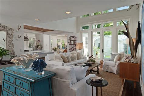 beach cottage living room bring the shore into home with beach style living room