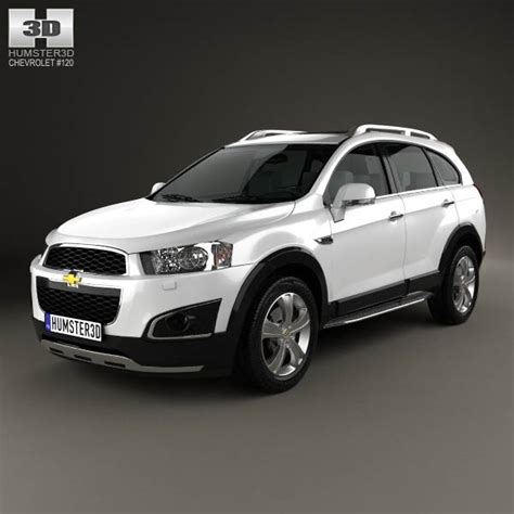 chevrolet captiva ltz chevrolet captiva ltz 2013 3d model humster3d