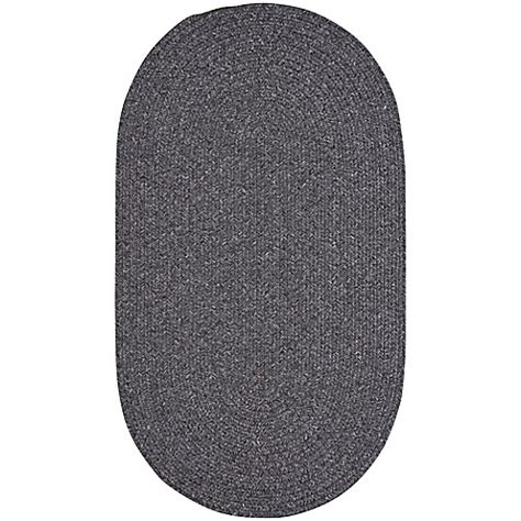 Oval Indoor Outdoor Rugs Buy Capel Rugs Candor Oval Braided Indoor Outdoor Rug In Grey From Bed Bath Beyond