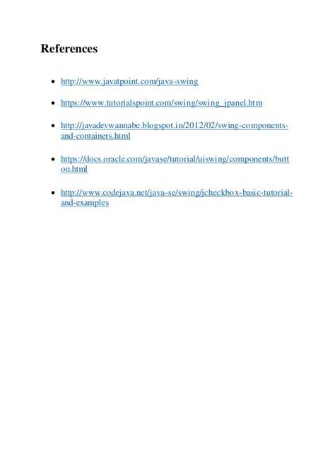 tutorialspoint vs javatpoint project report