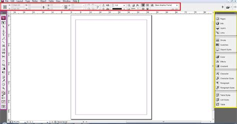 fungsi layout di corel design grafis gratis fungsi tools dan area kerja indesign