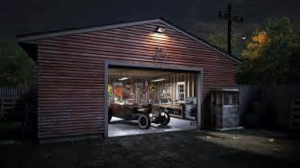 Garage Images Cgarchitect Professional 3d Architectural Visualization