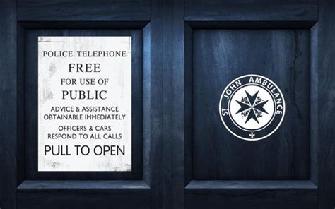 Tardis Door Decal by Tardis Free For Use Plaque Doctor Dr Who Inspired