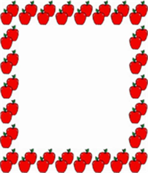free printable apple stationery apple border writing paper apple border paper clip art