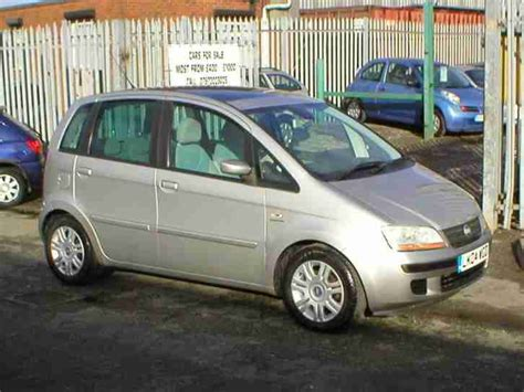 Fiat Idea Fiat Idea 1 4 16v Eleganza 2004 Grey 80k Mot Car For Sale