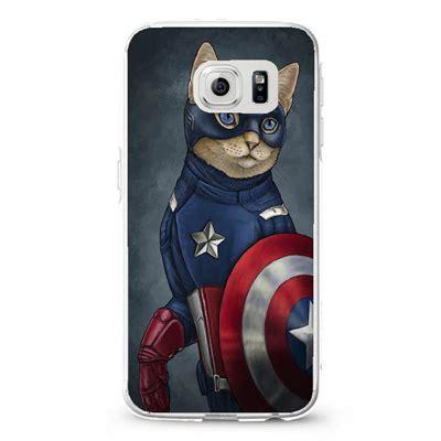 Casing Samsung S6 Edge Plus Top Captain America Civil War Wide Custom captain america cat 4 samsung galaxy s3 s4 s5 s6 cases