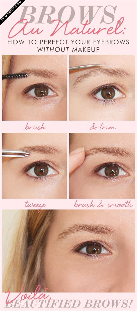 natural eyebrow makeup tutorial for beginners makeup for brows style guru fashion glitz glamour