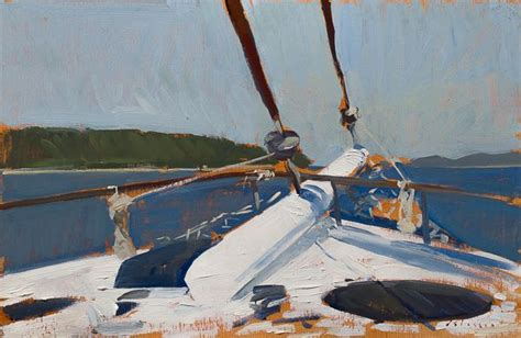 bow of his boat 64 best art plein air painting outside style images on