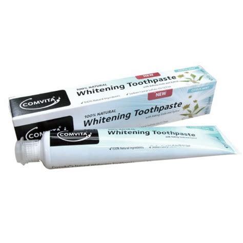 toothpaste whitening comvita whitening toothpaste 100g ashop new zealand