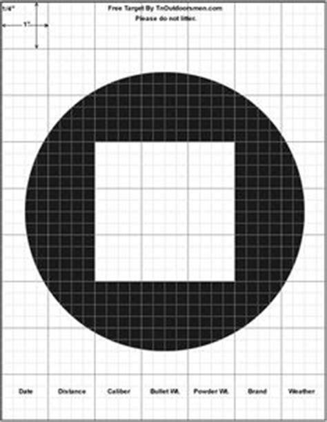 printable crosshair targets printable target large crosshair simple shooting range