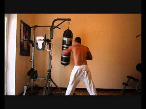 allenamento boxe a casa allenamento boxe pugilato 2 ripresa al sacco