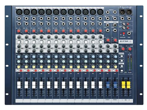 Mixer Soundcraft Efx 12 epm12 soundcraft professional audio mixers