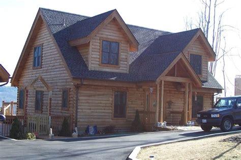 Large Log Cabin Floor Plans Grandfather Mountain Log Homes