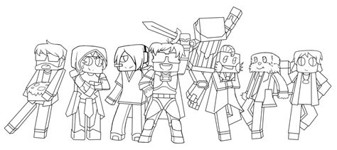 coloring pages of minecraft youtubers pat and jen minecraft skins coloring pages coloring pages