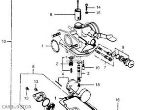 Honda Ct90 Carburetor Diagram Honda Ct90 Trail 1974 Usa Parts List Partsmanual Partsfiche
