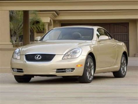lexus coupe 2008 best used lexus coupe sc autobytel com