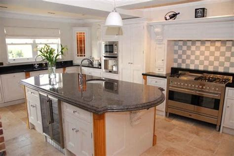 kitchens woodstyle joinery cartmel kitchen with large island