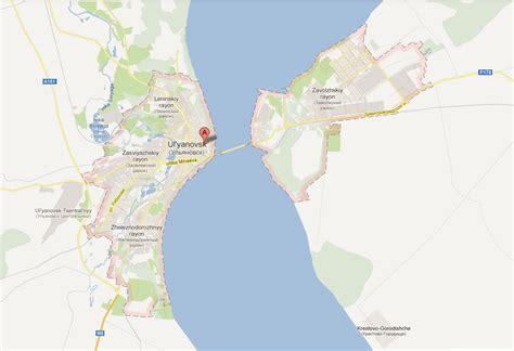 maps russia ulyanovsk ulyanovsk map and ulyanovsk satellite image