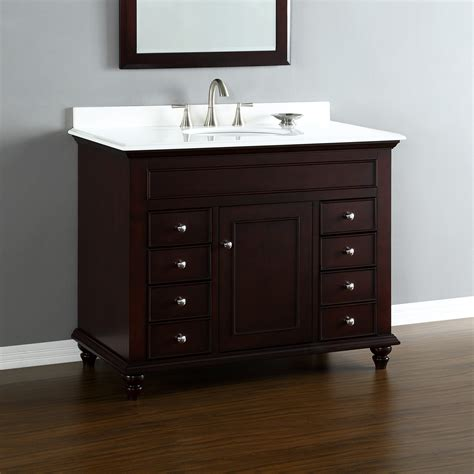 Mayfield 42 Quot Center Sink Vanity Mission Hills Furniture Where To Buy Bathroom Vanity