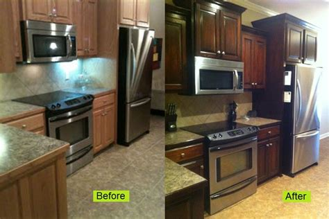staining kitchen cabinets cost kitchen cabinet stain cost video and photos