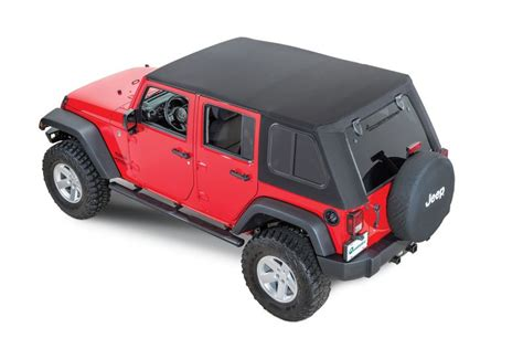 Best Top Jeep Bestop Trektop Pro Soft Top 54853 17 With Removeable