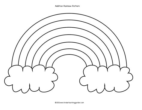 rainbow coloring pages for preschool az coloring pages rainbow coloring pages for preschool az coloring pages