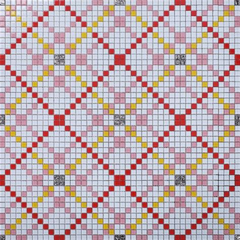 mosaic pattern puzzles wholesale vitreous mosaic tile pattern glazed crystal
