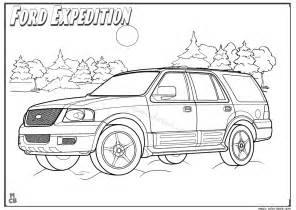 ford expedition coloring pages