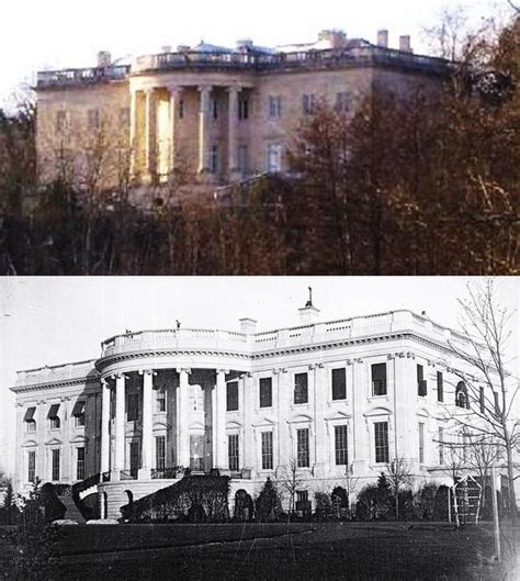 what year was the white house built file white house south side comparison jpg wikipedia