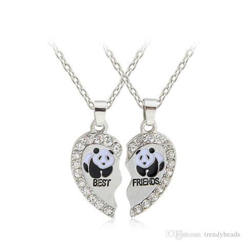 wholesale panda best friends necklace bestfriends jewelry