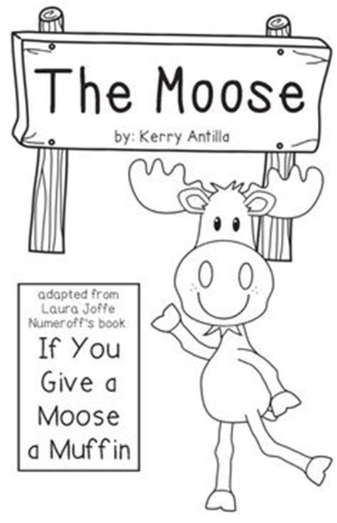 if you give a moose a muffin coloring page image mag