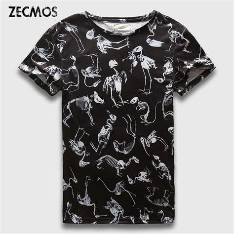 Print T Shirt Mens by Zecmos T Shirt 3d Animals Wear Mens Print T Shirt Tops Tees In T Shirts From