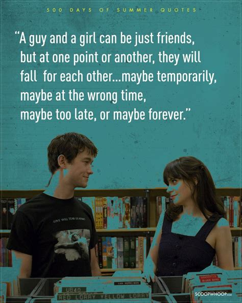 the days of summer 11 realistic 500 days of summer quotes which are the dating bible that we need