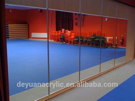 Cermin Tari tari akrilik perak cermin besar cermin dinding akrilik
