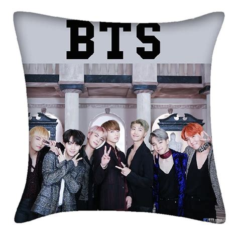 Custom Kpop Bts 1 bts pillow bts bangtan boys cushion cover kpop