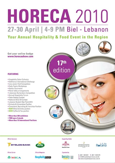 bnl business way horeca 2010 your annual hospitality and food event in the