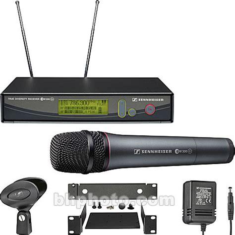 Microphone Wireless Mic Senheiser Ew 545 G2 sennheiser ew345 g2 wireless handheld microphone ew345g2 a b h