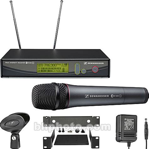Mic Sennheiser 135 G2 Single Mic sennheiser ew345 g2 wireless handheld microphone ew345g2 a b h