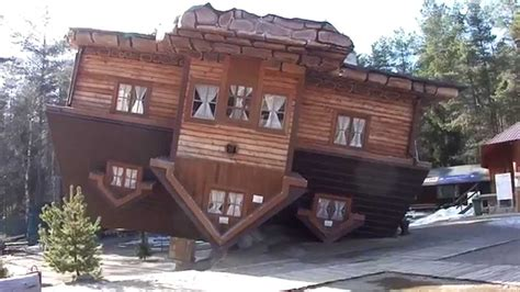 upside down house poland upside down house at szymbark park poland youtube
