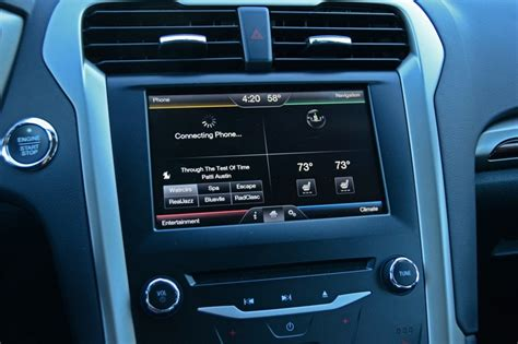 ford fusion hazard lights 2015 ford fusion se 1 5 ecoboost review test drive