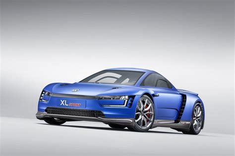 volkswagen xl1 sport vw shows off the xl sport concept in paris