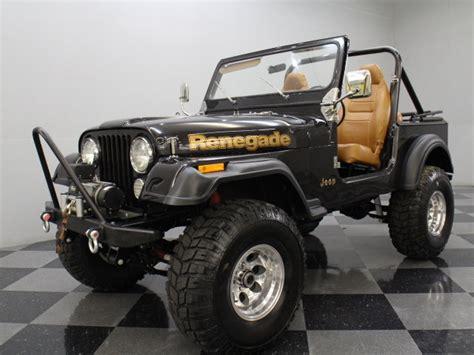 brown jeep cj7 renegade dark brown metallic 1984 jeep cj for sale mcg marketplace