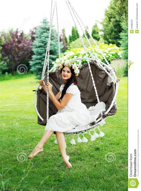 women and swinging fairy girl royalty free stock photography image 31683707