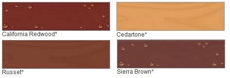 thompson water seal stain colors thompson s 174 waterseal 174 deck house solid