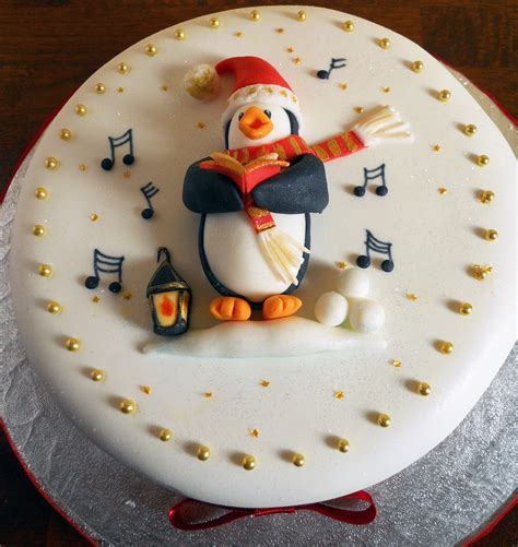 images of christmas cakes penguin carol singer christmas cake orders now being taken