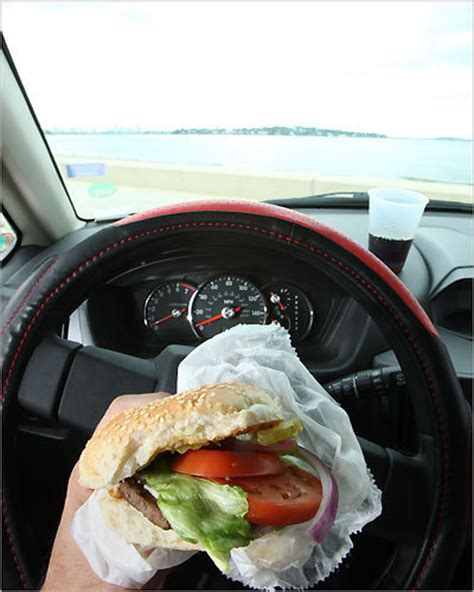 snacks to steer clear of while driving boston com