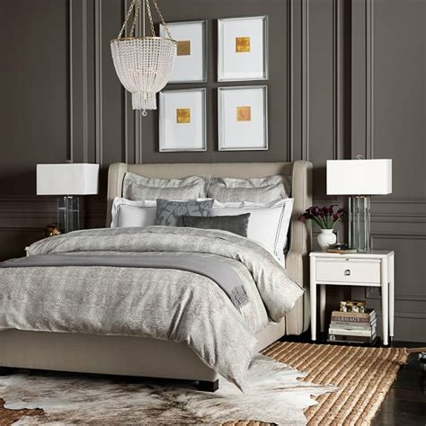 william sonoma bedding snakeskin jacquard bedding gray williams sonoma